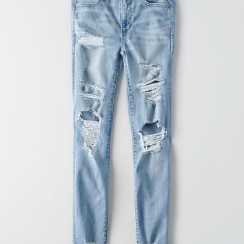 AEO Denim X Hi-Rise Jegging, Ice Woman