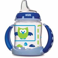 NUK Woodlands Learner Cup, 5 Ounce, 2-Pack, Silicone, BPA-Free, Boy - Walmart.com