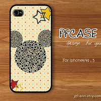 Oh Classic Mickey  Handmade Case for Iphone 4/4s  by pfcases