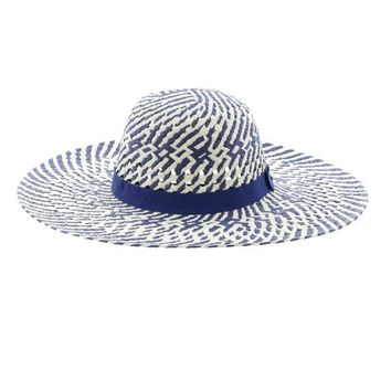 Eliza Two-Tone Sun Hat