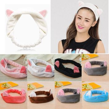 Head Band Party Gift Headdress Cat Ears Hairband Accessories Makeup Tools I0046
