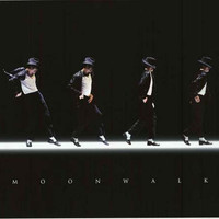 Michael Jackson Moonwalk Poster 24x36