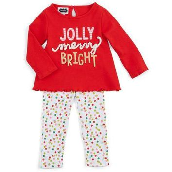 Mud Pie Jolly Legging and Tunic Set