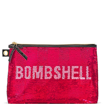 Bombshell Secret Message Sequin Pouch - Victoria's Secret