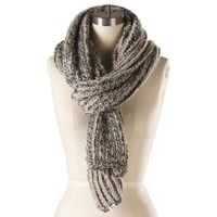 Vans Royer Circle Scarf (Oatmeal/Charcoal)