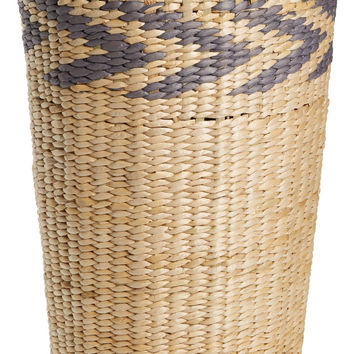 Chevron Straw Hamper