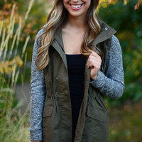 Report for Duty Jacket - Olive