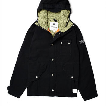 Supremebeing Jacket with Hood
