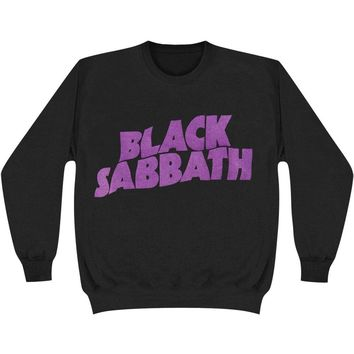 Black Sabbath Boys' Wavy Logo Miscellaneous Black