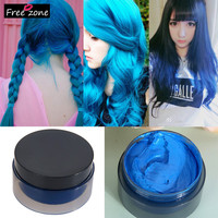 Hot! 100ml Women's Fashion Hair Tool Hair Modeling Temporary Hair Dye Cream Wax Mud-Best quality !! 100% Good feedback