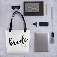 Wedding Tote bag - Bride
