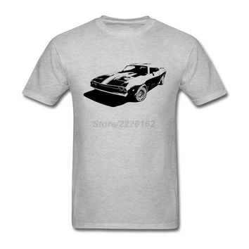 Men old classic car Tee Shirts fashion Spring Trendy Mix Hipster T 80s Old Car t-shirt Custom Made Fitted Cotton Homme clothes