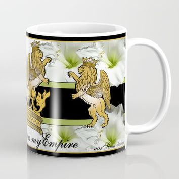 My Empire Collection Summer Set White Flowers Mug by nassimadesign