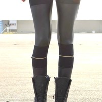 Zip My Knee Leggings | Shop Civilized
