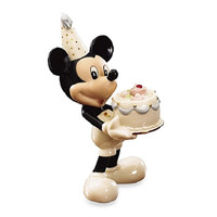 Lenox Mickey's Happy Birthday To You- January