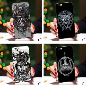 Smmna vikings Ragnar Vikings Season 3 Cover case for iphone 5 5s 6 6s plus 7 7plus vikings TV phone case for iphone 5 5s cases