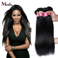 Grade 7A Straight Brazilian Virgin Human Hair Weaves Brazilian Straight Hair Bundles 3Pcs/Lot Straight Virgin Hair Extensions