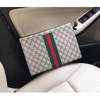 GUCCI MEN LEATHER HANDBAG