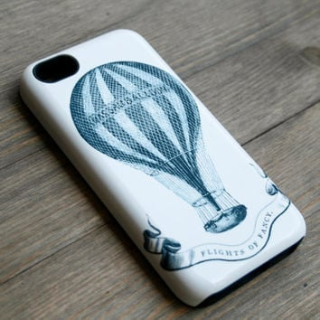 iPhone 6 Case Vintage Hot Air Balloon iPhone 5 Case, Flights of Fancy iPhone5 Cover, iPhone 5S, iPhone 5C Case iPhone 6 Case