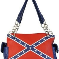 Flag: Confederate Rebel Flag Concealed Carry Handbag
