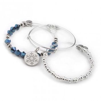 Arctic Chill Bangle Stack