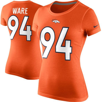 DeMarcus Ware Denver Broncos Nike Women's Player Pride Name & Number T-Shirt - Orange