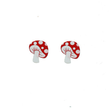 Magic Mushroom Earrings