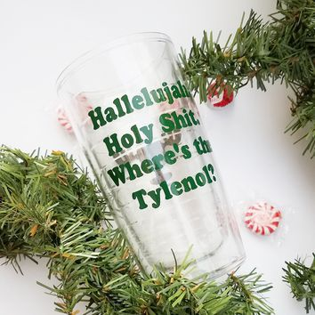 Christmas Vacation Inspired Tumbler