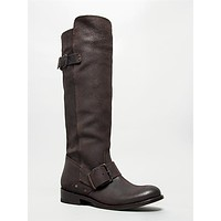 Buckled Knee High Boots
