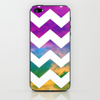 Lucky Chevron iPhone & iPod Skin by Beth - Paper Angels Photography | Society6