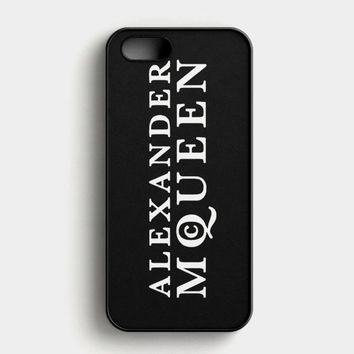 Alexander Mcqueen iPhone SE Case