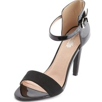 Ankle-Strap Single Sole Heel: Charlotte Russe