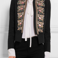 Vilshenko - Freya embroidered cotton jacket