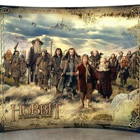 The Hobbit An Unexpected Journey StarFire Prints Curved Glass