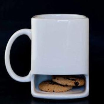 White dunk mug by apiecebydenise on Etsy