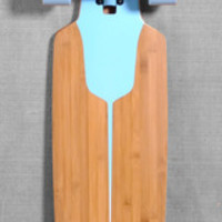 "DUSTERS 38"" CHANNEL LONGBOARD COMPLETE - BLUE/WHITE"