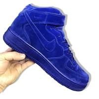 Nike Air Jordan Retro 1 High Tops Contrast Sports shoes Sapphire Blue