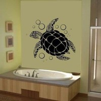 Sea Turtle Wall Art Vinyl Decal Sticker Graphic Ocean Hawaiian By LKS Trading Post:Amazon:Everything Else