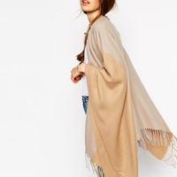 ASOS Cape In Colour Block