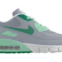 Nike Air Max 90 iD Boys' Shoe Size 6Y (Grey)