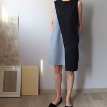 Mondrian dress -new