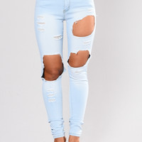 Kayley Skinny Jeans - Light Blue