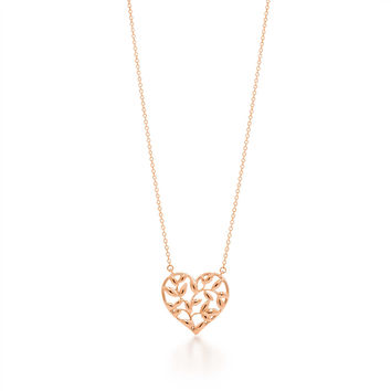 Tiffany & Co. - Paloma Picasso®:Olive Leaf<br>Heart Pendant