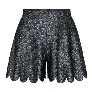 Summer Women's Fashion Print Casual Pants Dress Shorts [6049189441]