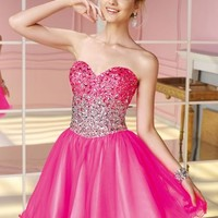Alyce Short Dress 3588 at Prom Dress Shop