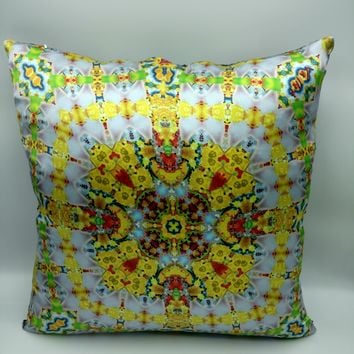 Silk Satin 16mm Pillow Cover 4 - 20x20 Inches