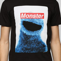 Censored Cookie Monster Tee - Urban Outfitters