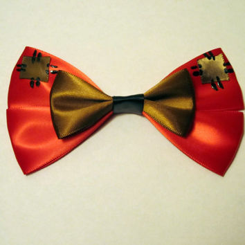 Grumpy Hair Bow Snow White Disney Inspired