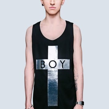 Boy Silver Cross from Long Clothing x Boy London