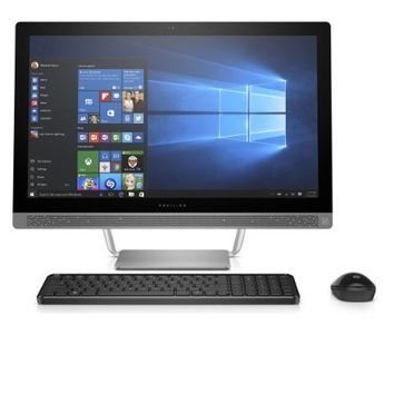 "HP Pavilion 24-b010 23.8"" All-In-One Desktop (AMD A9-9410, 8GB RAM, 1TB HDD, Windows 10 Home)"